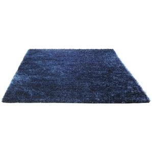 Handgetufteter Teppich New Glamour in Blau