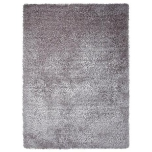Handgetufteter Teppich New Glamour in Silber