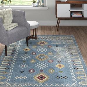 Teppich Ozment in Blau
