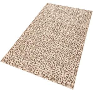 Teppich »Pattern«, HANSE Home, rechteckig, Höhe 9 mm, Muster in Fliesen-Optik, Wohnzimmer