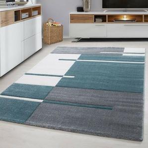 Teppich Pikus in Blau
