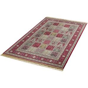 Teppich »Precious«, MINT RUGS, rechteckig, Höhe 9 mm, weiche Viskose mit Fransen, Orient-Optik, Wohnzimmer
