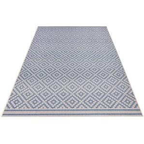 Teppich »Raute«, bougari, rechteckig, Höhe 8 mm, In- und Outdoorgeeignet, Sisaloptik