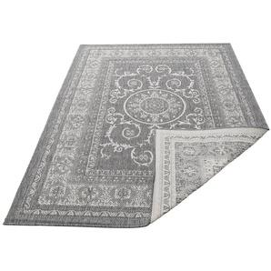 Teppich »Sanem«, my home, rechteckig, Höhe 5 mm, In- und Outdoor geeignet, Wendeteppich, Wohnzimmer