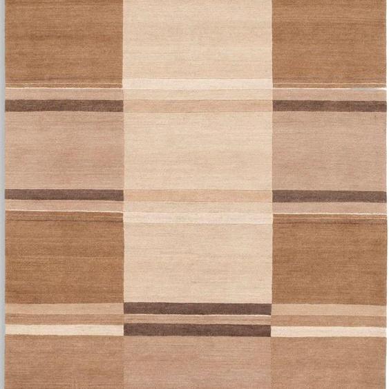 Teppich, Sensation Soya, OCI DIE TEPPICHMARKE, rechteckig, Höhe 6 mm, manuell geknüpft 31, 140x200 cm, mm beige Moderne Teppiche
