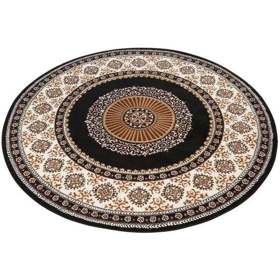 Teppich »Shari«, DELAVITA, rund, Höhe 7 mm, Orient - Dekor, Wohnzimmer