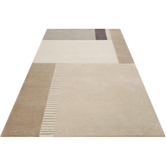 Esprit Teppich Simon´s Town, rechteckig, 9 mm Höhe, weicher Kurzflor, Wohnzimmer 31, 130x190 cm, beige Kinder Bunte Kinderteppiche Teppiche