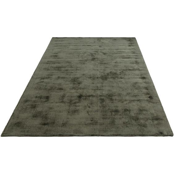 Teppich, Soley, Leonique, rechteckig, Höhe 12 mm, handgewebt 7, 240x320 cm, mm grün Teppiche Fußmatten Nachhaltige Heimtextilien