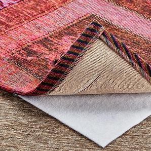 Teppich-Stopp für glatte und textile Bodenbeläge - weiß - Synthethische Fasern - 80 cm   Möbel Kraft