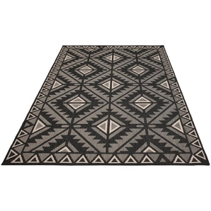 Teppich »Timea«, my home, rechteckig, Höhe 7 mm, In-und Outdoor geeignet, Wendeteppich, Wohnzimmer