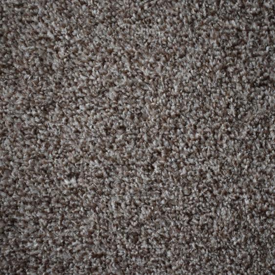 Teppichfliese Amalfi, quadratisch, 8 mm Höhe, braun, selbstliegend B/L: 50 cm x cm, 20 St. braun Teppichfliesen Bodenbeläge Bauen Renovieren