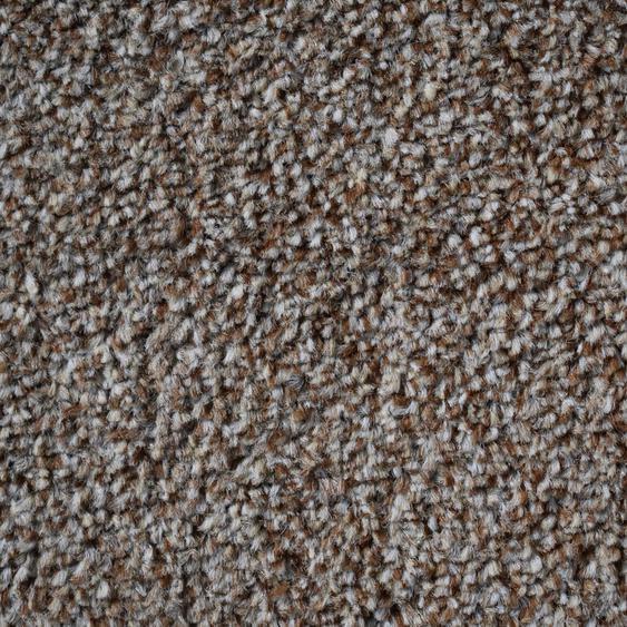 Teppichfliese Amalfi, quadratisch, 8 mm Höhe, camel, selbstliegend B/L: 50 cm x cm, 20 St. braun Teppichfliesen Bodenbeläge Bauen Renovieren