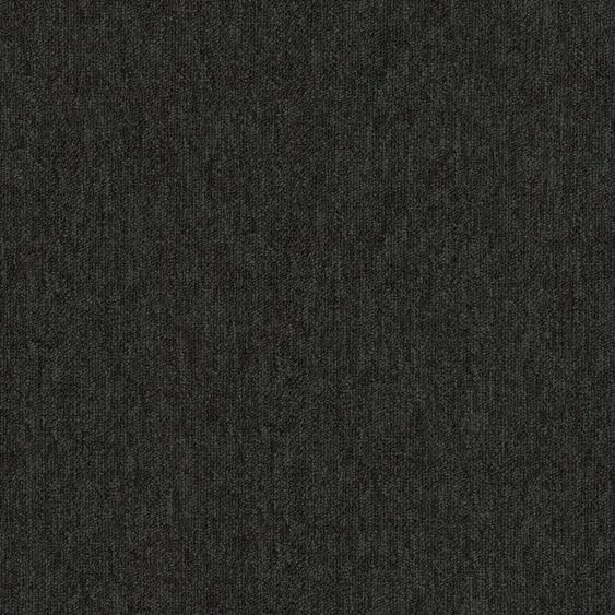 Teppichfliese Austin, quadratisch, 4 mm Höhe B/L: 50 cm x cm, 20 St. schwarz Teppichfliesen Bodenbeläge Bauen Renovieren