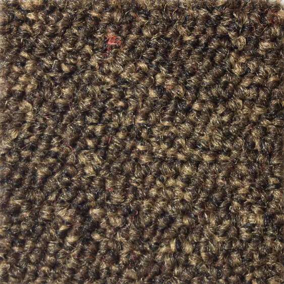 Teppichfliese Austin, quadratisch, 4 mm Höhe, selbstliegend B/L: 50 cm x cm, St. braun Teppichfliesen Bodenbeläge Bauen Renovieren