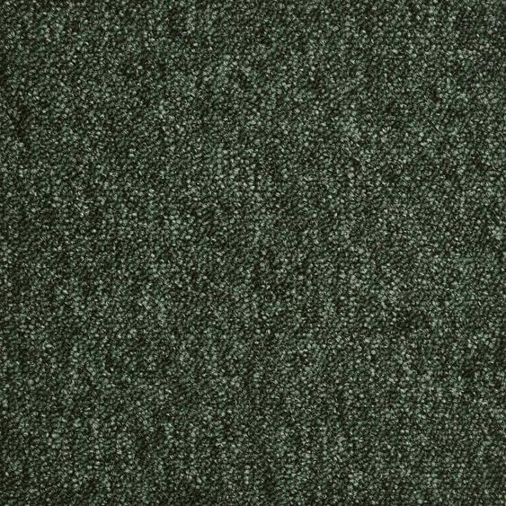 Teppichfliese Austin, quadratisch, 6 mm Höhe, grün, selbstliegend B/L: 50 cm x cm, 20 St. grün Teppichfliesen Bodenbeläge Bauen Renovieren