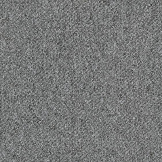 Teppichfliese City, quadratisch, 3 mm Höhe, selbstliegend B/L: 50 cm x cm, 4 St. grau Teppichfliesen Bodenbeläge Bauen Renovieren
