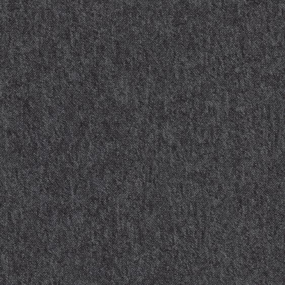 Teppichfliese City, quadratisch, 3 mm Höhe, selbstliegend B/L: 50 cm x cm, 4 St. schwarz Teppichfliesen Bodenbeläge Bauen Renovieren