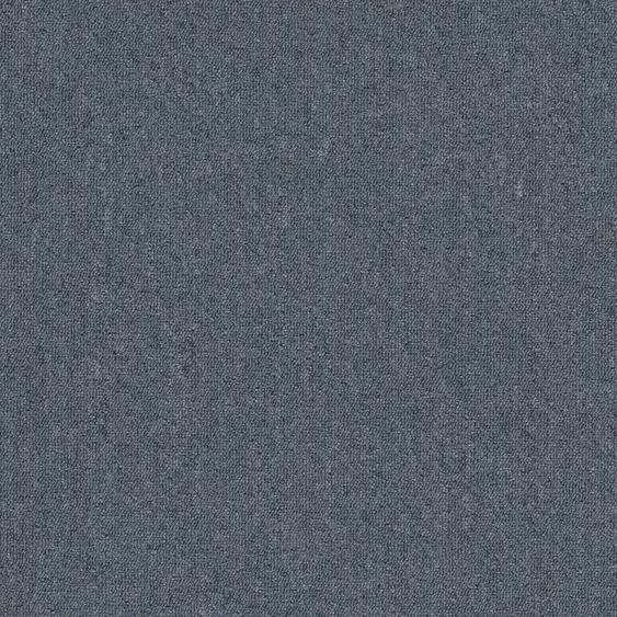 Teppichfliese Jersey, quadratisch, 3 mm Höhe, selbstliegend B/L: 50 cm x cm, 20 St. blau Teppichfliesen Bodenbeläge Bauen Renovieren