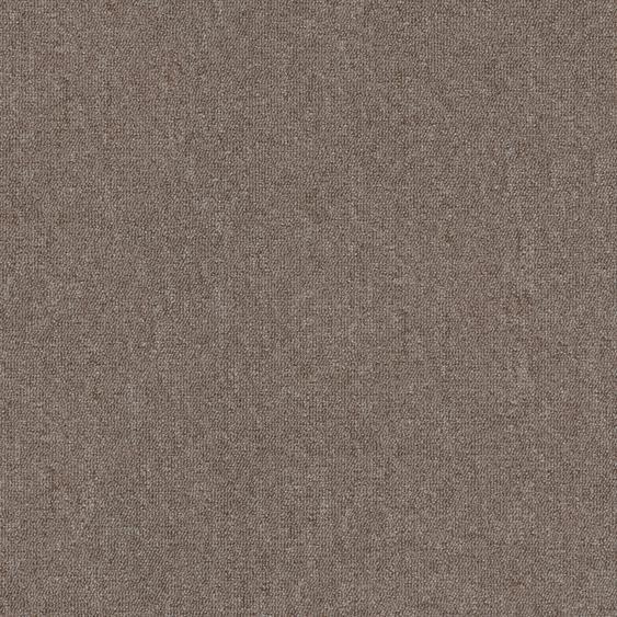 Teppichfliese Jersey, quadratisch, 3 mm Höhe, selbstliegend B/L: 50 cm x cm, 20 St. braun Teppichfliesen Bodenbeläge Bauen Renovieren