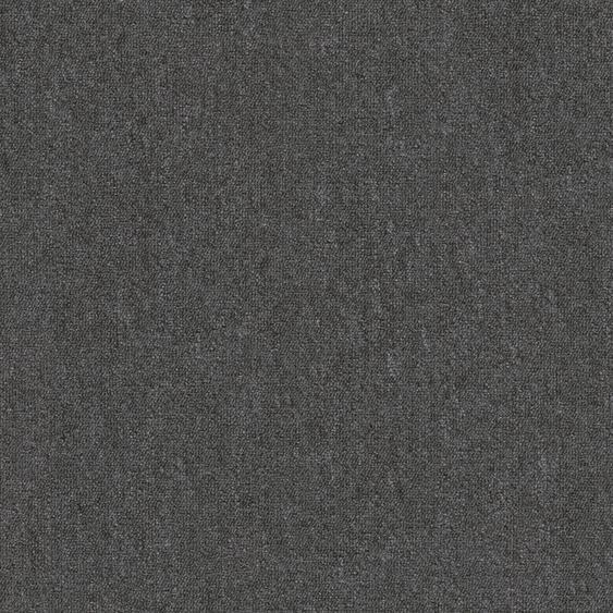 Teppichfliese Jersey, quadratisch, 3 mm Höhe, selbstliegend B/L: 50 cm x cm, 20 St. schwarz Teppichfliesen Bodenbeläge Bauen Renovieren