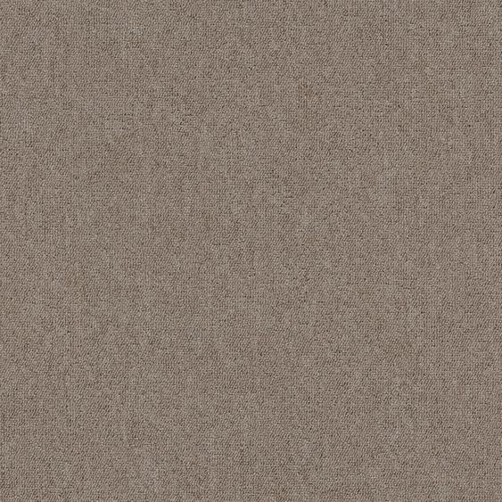Teppichfliese Jersey, quadratisch, 3 mm Höhe, selbstliegend B/L: 50 cm x cm, 4 St. beige Teppichfliesen Bodenbeläge Bauen Renovieren