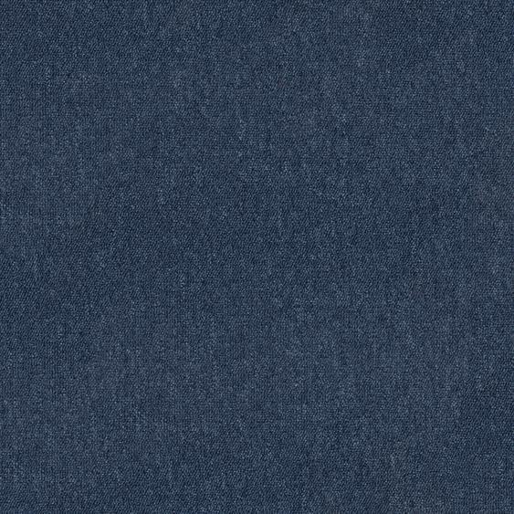Teppichfliese Jersey, quadratisch, 3 mm Höhe, selbstliegend B/L: 50 cm x cm, 4 St. blau Teppichfliesen Bodenbeläge Bauen Renovieren