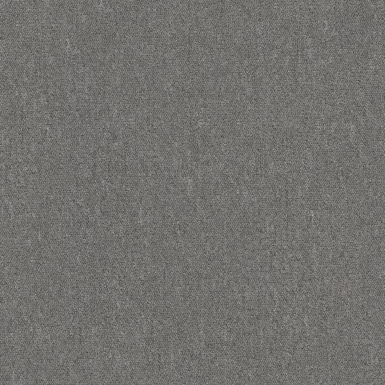Teppichfliese Jersey, quadratisch, 3 mm Höhe, selbstliegend B/L: 50 cm x cm, 4 St. grau Teppichfliesen Bodenbeläge Bauen Renovieren