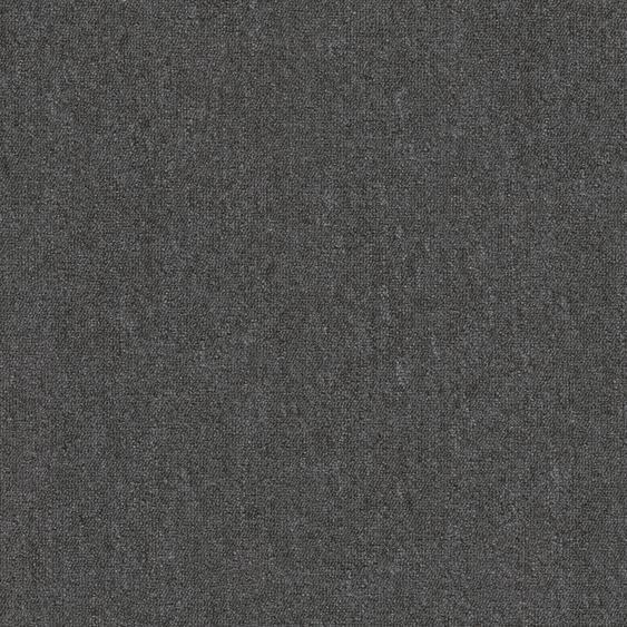 Teppichfliese Jersey, quadratisch, 3 mm Höhe, selbstliegend B/L: 50 cm x cm, 4 St. schwarz Teppichfliesen Bodenbeläge Bauen Renovieren