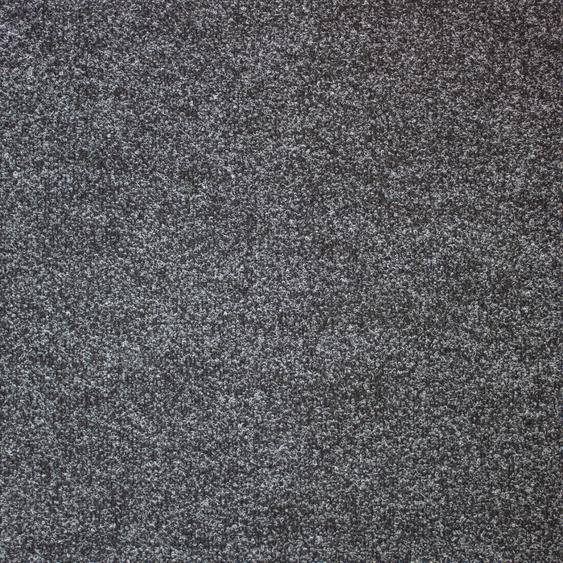 Teppichfliese Madison, quadratisch, 6 mm Höhe, anthrazit, selbstliegend B/L: 50 cm x cm, 20 St. grau Teppichfliesen Bodenbeläge Bauen Renovieren