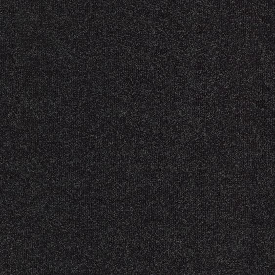Teppichfliese Madison, quadratisch, 6 mm Höhe, anthrazit, selbstliegend B/L: 50 cm x cm, 4 St. grau Teppichfliesen Bodenbeläge Bauen Renovieren