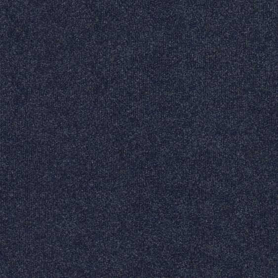 Teppichfliese Madison, quadratisch, 6 mm Höhe, blau, selbstliegend, leicht austauschbar B/L: 50 cm x cm, 4 St. blau Teppichfliesen Bodenbeläge Bauen Renovieren