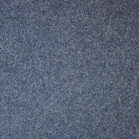 Teppichfliese Maine, quadratisch, 6 mm Höhe, selbstliegend B/L: 50 cm x cm, 4 St. blau Teppichfliesen Bodenbeläge Bauen Renovieren