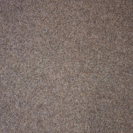 Teppichfliese Maine, quadratisch, 6 mm Höhe, selbstliegend B/L: 50 cm x cm, 4 St. braun Teppichfliesen Bodenbeläge Bauen Renovieren