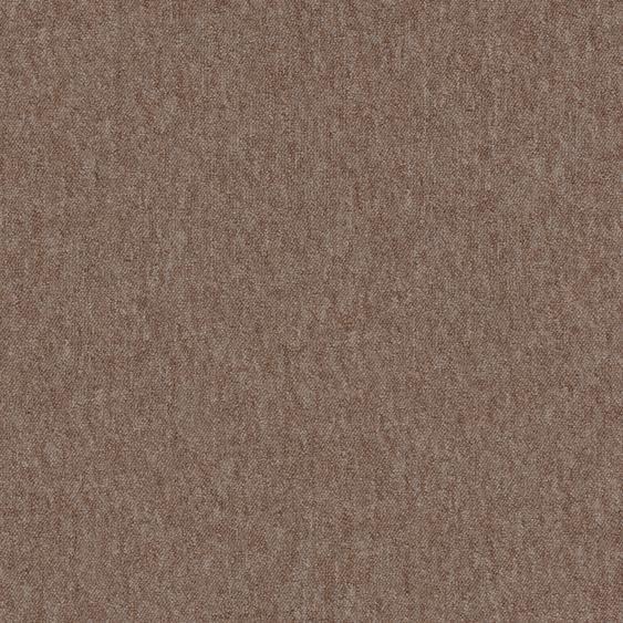 Teppichfliese Neapel, quadratisch, 6 mm Höhe, sand, selbstliegend B/L: 50 cm x cm, 4 St. braun Teppichfliesen Bodenbeläge Bauen Renovieren