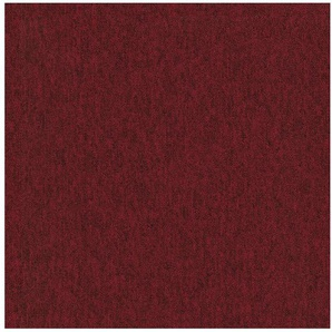 Teppichfliese »Neapel rot«, 4 Stück (1 m²), selbstliegend