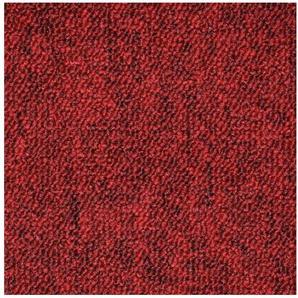 Teppichfliese »Neapel rot«, 20 Stück (5 m²), selbstliegend