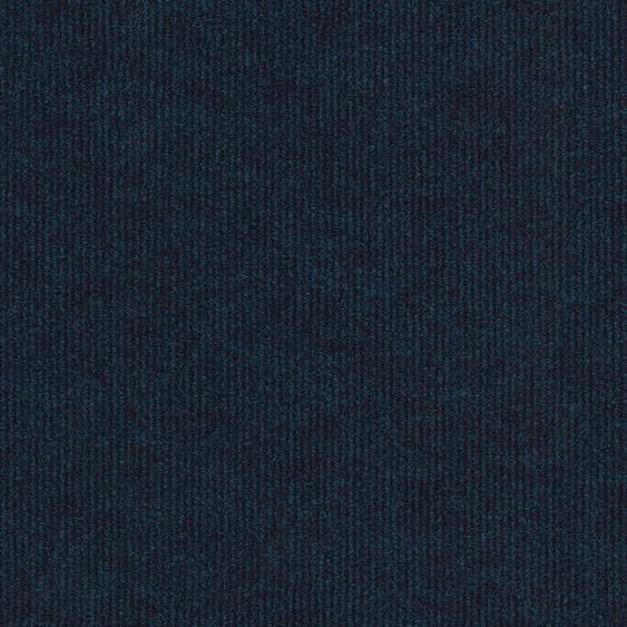 Teppichfliese Trend, quadratisch, 3 mm Höhe, selbstliegend B/L: 50 cm x cm, 20 St. blau Teppichfliesen Bodenbeläge Bauen Renovieren