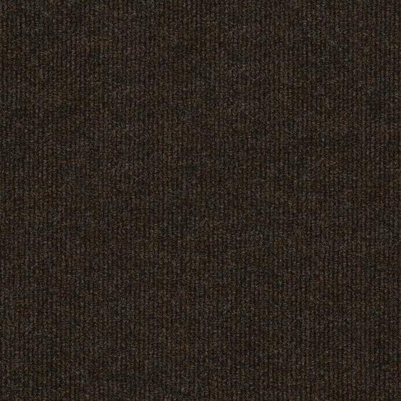 Teppichfliese Trend, quadratisch, 3 mm Höhe, selbstliegend B/L: 50 cm x cm, 4 St. braun Teppichfliesen Bodenbeläge Bauen Renovieren