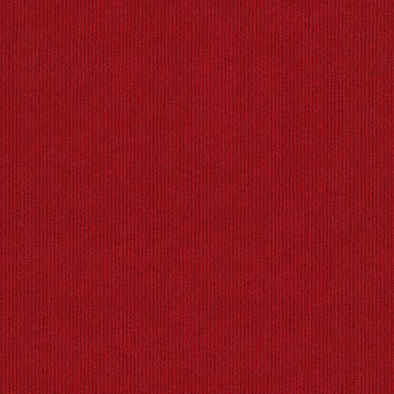 Teppichfliese Trend, quadratisch, 3 mm Höhe, selbstliegend B/L: 50 cm x cm, 4 St. rot Teppichfliesen Bodenbeläge Bauen Renovieren
