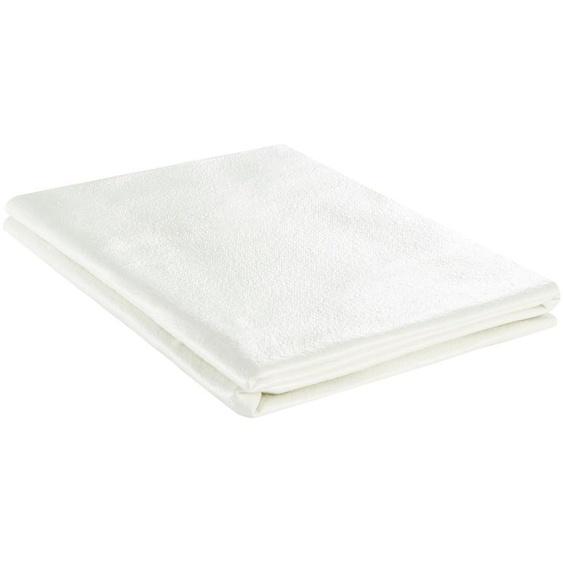 Teppichunterlage   weiß  