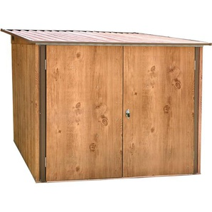 Tepro Metall-Fahrradbox mit Pultdach 162,5 cm x 191,6 cm x 202,1 cm