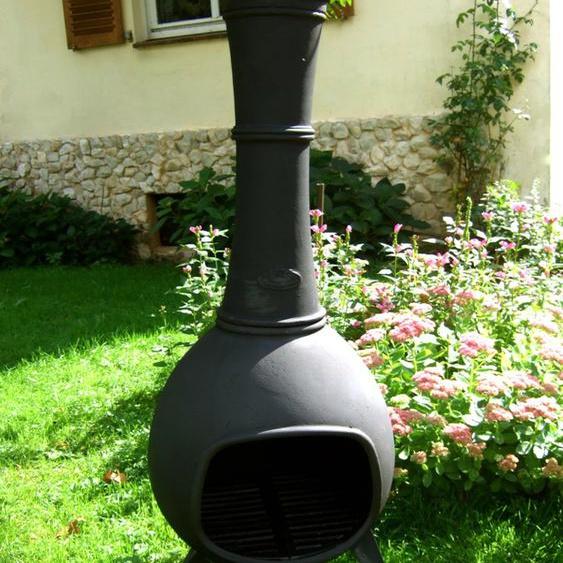 Terrassenofen aus Eisen, Terrassen Ofen angenehme Wärmestrahlung, Etera 110 cm