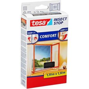 tesa Insect Stop Comfort Fensterfliegengitter anthrazit 130 x 130 cm