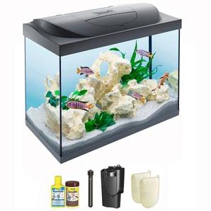 Tetra Aquarien-Set Starter Line 80 LED, BxTxH: 61x32x51 cm, l B/H/T: 61 cm x 51 32 schwarz Aquarien Aquaristik Tierbedarf