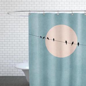 The Beauty of Silence - Duschvorhang