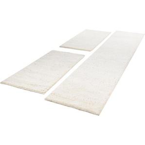 Theko® Bettumrandung »Taza Royal«, 14 (2x Brücke 140x70 cm & 1x Läufer 340x70 cm), beige