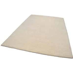 Theko® Wollteppich »Amravati«, 70x140 cm, 28 mm Gesamthöhe, beige