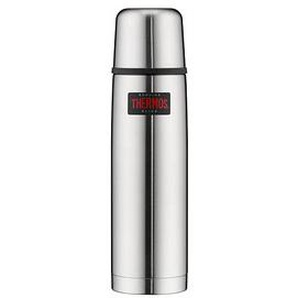 THERMOS® Isolierflasche Light & Compact silber 0,75 l