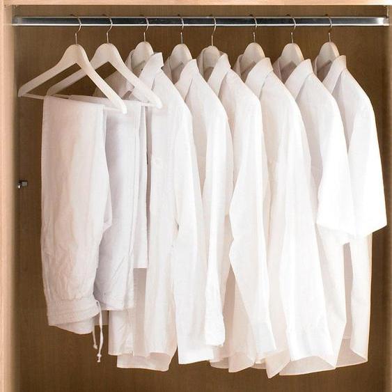 THIELEMEYER Kleiderstange Cubo B: 97,0 cm silberfarben Zubehör für Kleiderschränke Möbel Kleiderstangen
