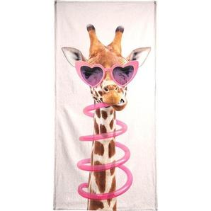 Thirsty Giraffe - Strandtuch